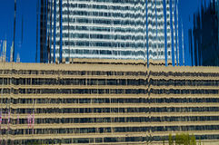 Building Water Abstract Royalty Free Stock Photography
