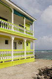 Building waterfront Corn Island Nicaragua Stock Photos