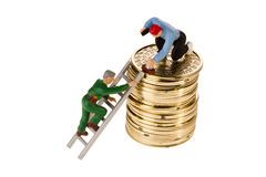 Building Wealth Stock Image
