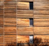 Building with Weathered Wooden Facade. Weathered Timber. Wooden Facade. Wooden Building stock photos