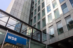 Building of Westdeutscher Rundfunk Stock Photo