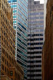 Building Windows abstract composition Stock Image