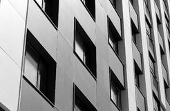 Building windows background stock photography