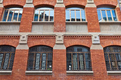 Building with windows and balconies Royalty Free Stock Photography