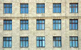 Building with windows Royalty Free Stock Images