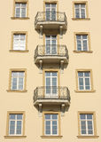 Building windows detail Royalty Free Stock Photo