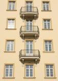 Building windows detail royalty free stock photo