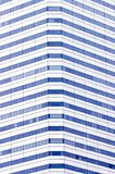 Building Windows Pattern. Windows of skyscraper, showing a distinct pattern, and clear blue windows. Abstract for urbanization Royalty Free Stock Image