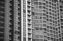 Building and windows pattern Stock Images