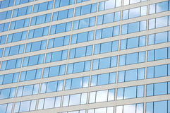 Building windows reflection Stock Images