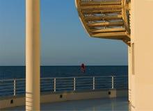 Building&Windsurf Zdjęcie Stock