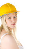 Building woman Stock Images