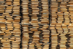 Building Wood Board Ready For Use In Stock Stock Photos