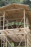 Building à wooden house Stock Photos