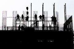 Building worker Royalty Free Stock Images