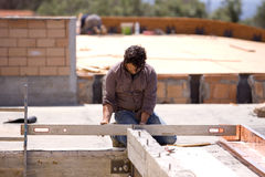 Building worker Royalty Free Stock Photo