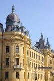 Building in Zagreb, Croatia royalty free stock image