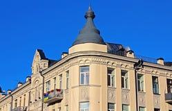 Buildingin基辅,乌克兰 免版税库存照片