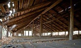 buildingin βιομηχανικός παλαιός στοκ φωτογραφία