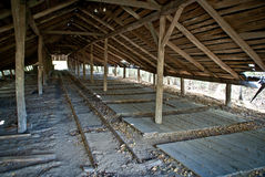 buildingin βιομηχανικός παλαιός στοκ φωτογραφία με δικαίωμα ελεύθερης χρήσης