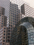 Buildings. Part of the World Trade Center Plaza royalty free stock images