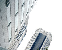 Buildings. A view of high-rise buildings royalty free stock photos