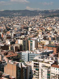 Buildings. As seen from Sagrada Familia in barcelona, Spain Stock Photography