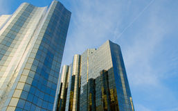 Buildings. Corporate building Royalty Free Stock Image