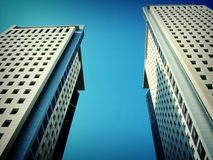 Buildings. Tall buildings Stock Photo