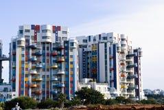 Buildings. Modern buildings on a bright blue sky Stock Photo