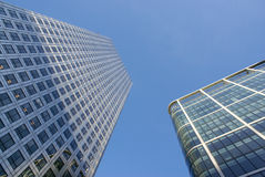 Buildings. Commercial buildings of modern architecture in London Royalty Free Stock Photo