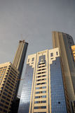 Buildings in Abu Dhabi Royalty Free Stock Photos