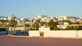 Buildings of Agadir, Morocco Stock Photo