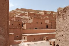 Buildings In Ait Benhaddou Royalty Free Stock Photo