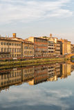 Buildings along the Arno River Royalty Free Stock Image