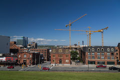 Buildings along Brunswick Street in Halifax Stock Photos