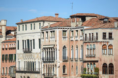 Buildings along the Grand Canal Stock Photo