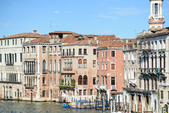 Buildings along the Grand Canal Royalty Free Stock Photography