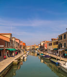 Buildings along the Grand Canal in Venice Royalty Free Stock Photos