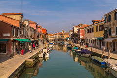 Buildings along the Grand Canal in Venice Royalty Free Stock Image