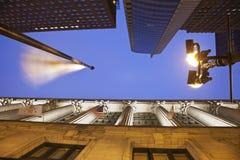Buildings along La Salle Street Royalty Free Stock Photo