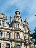 Buildings along Meir Street Antwerp Royalty Free Stock Photography