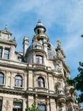 Buildings along Meir Street Antwerp Royalty Free Stock Photography