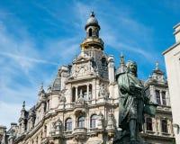 Buildings along Meir Street Antwerp Royalty Free Stock Photo