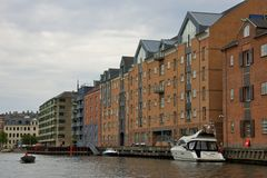 Buildings along Nyhavn, Copenhagen Stock Image