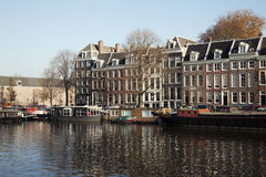 Buildings in Amsterdam Stock Photo