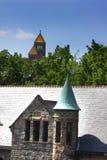 Buildings In Ann Arbor Michigan. Historic buildings in University of Michigan Ann arbor Royalty Free Stock Image