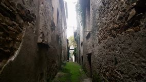 Buildings in Apice Vecchio, Italy. Apice Vecchio, Italy - 03 December 2018: buildings in Apice Vecchio, province of Benevento stock video footage