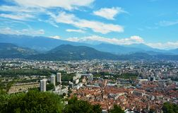 Buildings architecture, Grenoble Stock Images