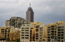 Buildings architecture in  Malta Royalty Free Stock Images